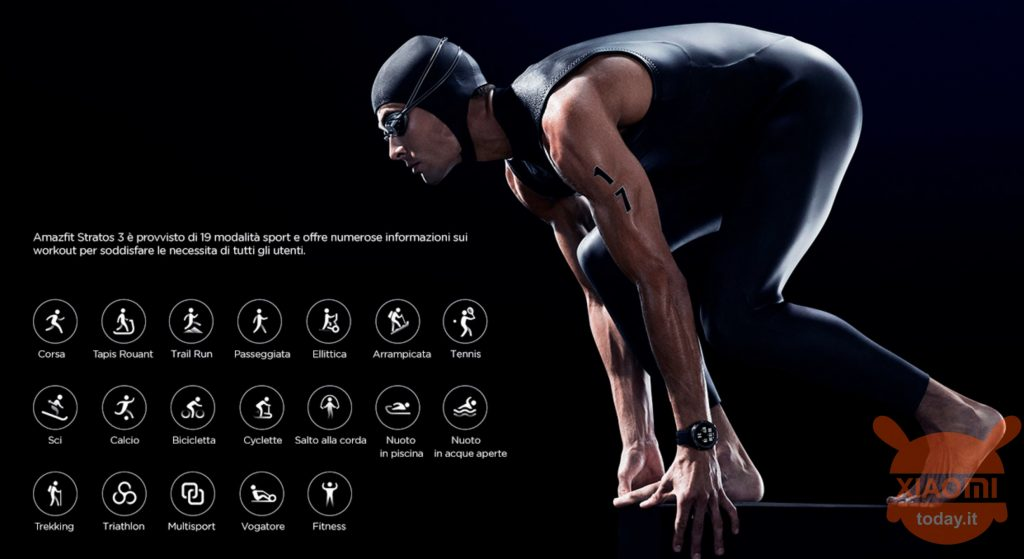 Amazfit Stratos 3 Health and Fitness