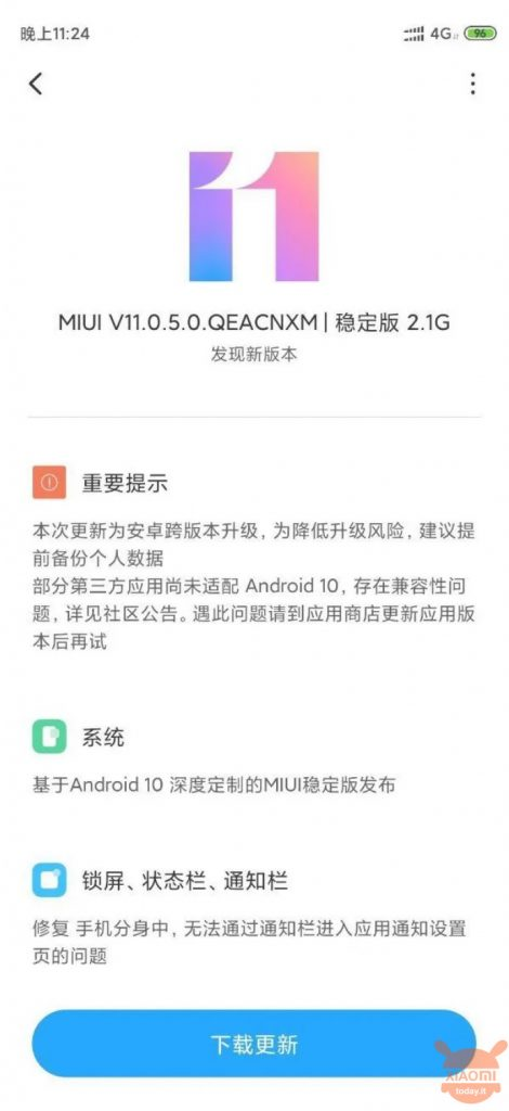 Androidの小米科技8 I 10