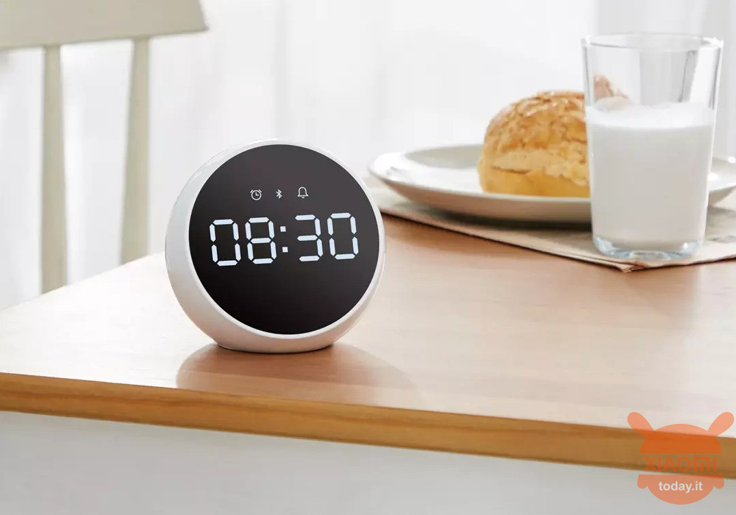 ZMI Alarm Clock Speaker Xiaomi Smart Health Calendar