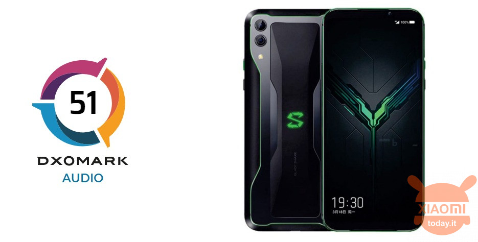 Xiaomi Black Shark 2 Pro DxOMark Audio