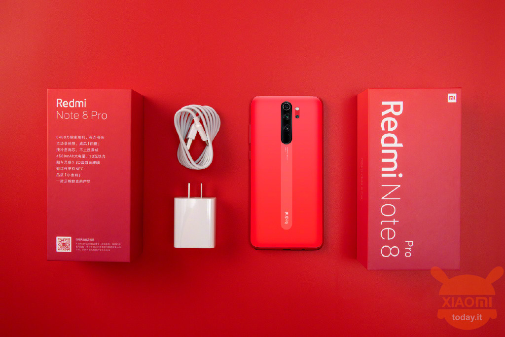 Redmi Note 8 Pro Twilight Orange Redmi 8 Phantom Red