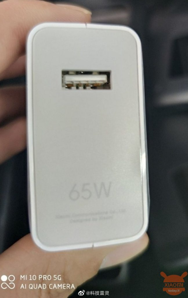 mi 10 pro 5g charger 65w