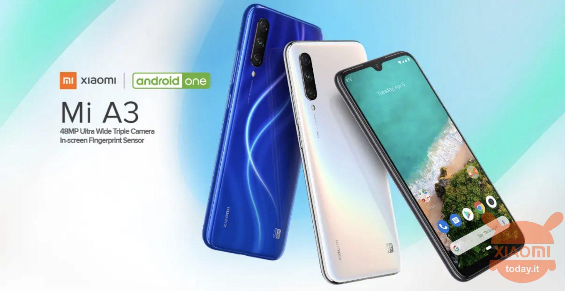 Xiaomi mi A3 in de aanbieding
