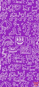 Redmi K30 Pro Zoom wallpaper cover Keith Haring