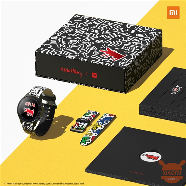 Xiaomi Mi Watch Color Keith Haring Edition officieel in China