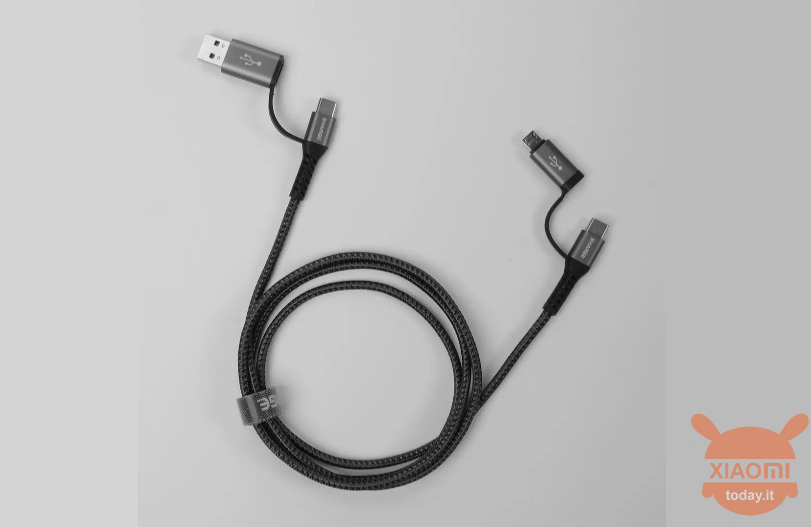 Sharge 4-in-1 Braided Data Cable