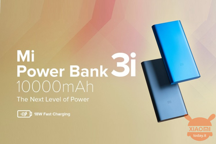 Mi 3i Power Bank
