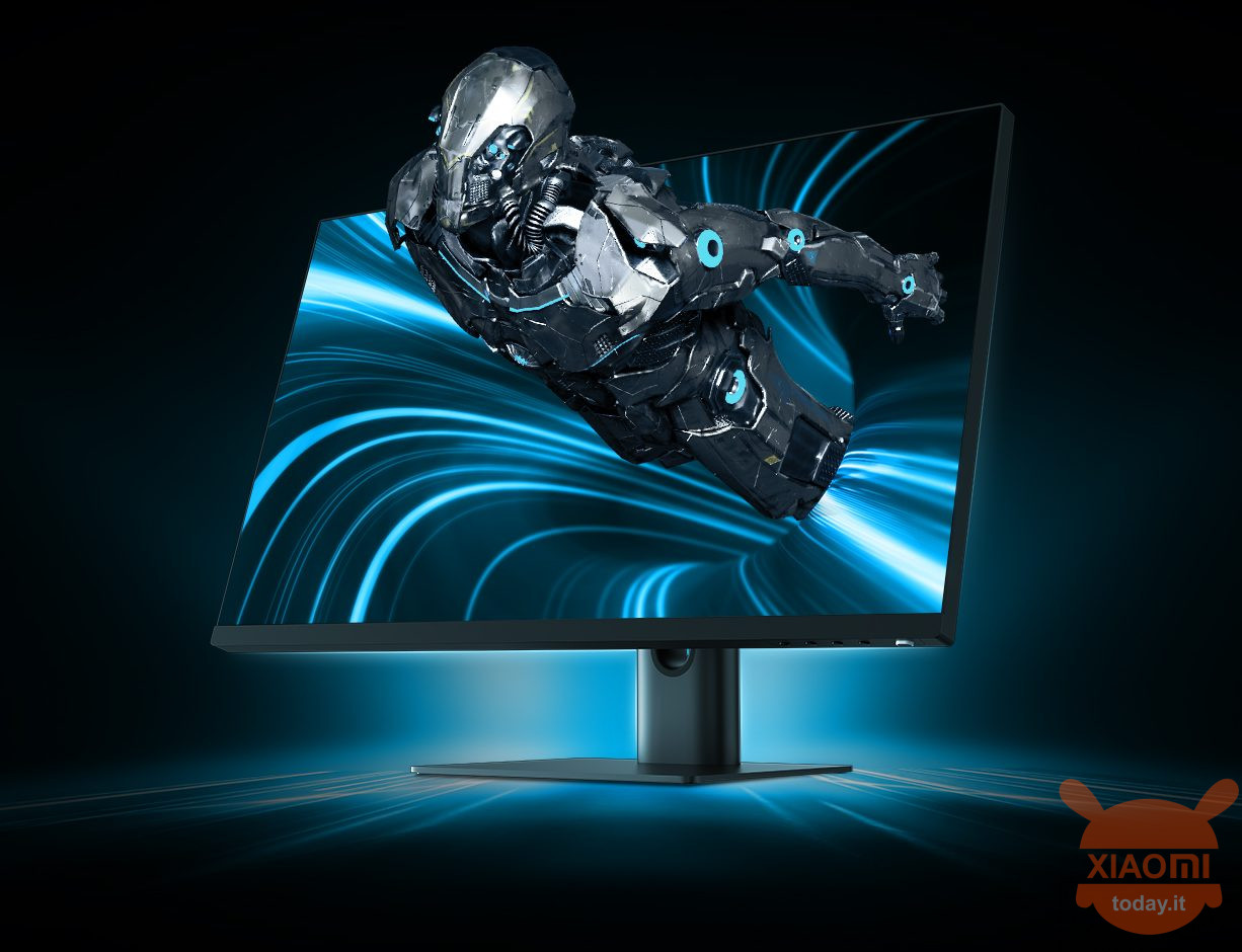 "xiaomi presenta un nuovo monitor gaming da 24.5"" e 144hz di refresh rate"