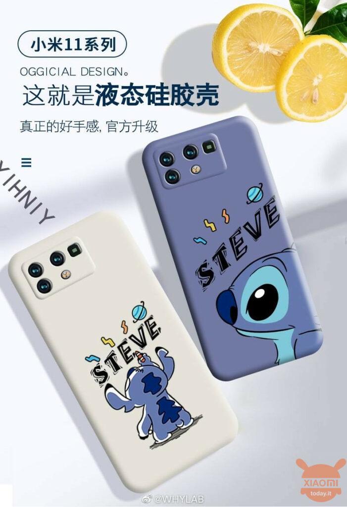 custom xiaomi mi 11 case unveils rear cameras