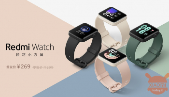 Official Redmi Watch with 1,4-inch display, swimming mode and NFC