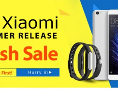 Xiaomi Summer Release Flash Sale  from TinyDeal