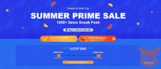 Banggood Summer Prime Sale has arrived and the offers are really sensational!