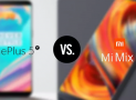 Xiaomi Mi Mix 2 vs. OnePlus 5T: Compare bezel-less