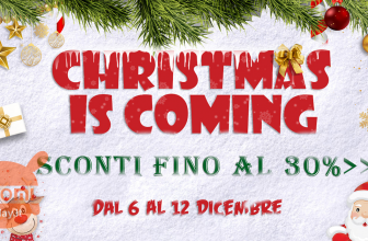 Evento – Christmas is Coming da HonorBuy.it