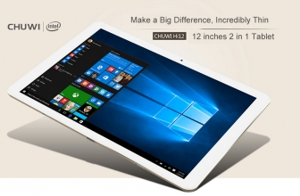 [Code de réduction] Chuwi Hi12 Tablet Win10 + Android € 203 inclus