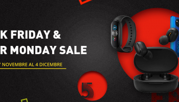 At GShopper Black Friday the Xiaomi with the best online prices