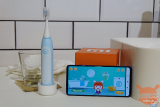 MiTu Children Sonic Electric Toothbrush, the toothbrush that teaches you how to brush your teeth by playing