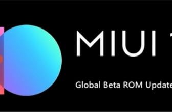 MIUI 10 Developer: stop for updates for the Chinese New Year