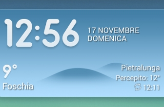Enable the MIUI Weather Widget in Italy