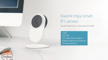 Offer - Xiaomi Mijia 1080P Smart IP Camera for only 22 € with 2 years of warranty Europe