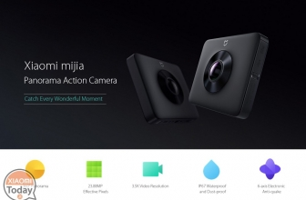 Offerta – Xiaomi Mijia 4K Panorama Action Camera Black a 222€ Italy Express Inclusa