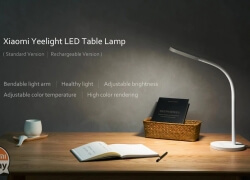 Discount Code - Xiaomi Yeelight YLTD01YL LED Table Light for only 19 € 2 guarantee years Europe