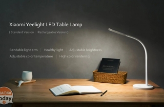 Discount Code - Xiaomi Yeelight YLTD01YL LED Table Light rechargeable for only 24 € FREE shipping from Europe warehouse