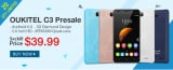 Oukitel C3 Presale Seckill Price for $39.99 from TinyDeal