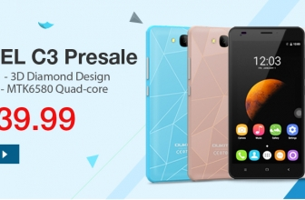 Oukitel C3 Presale Seck Price for $ 39.99 from TinyDeal