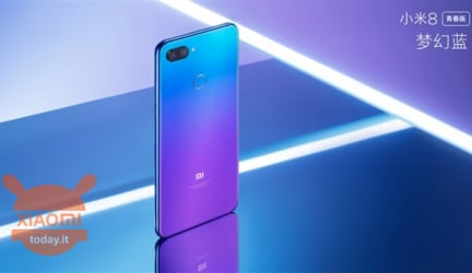 New Xiaomi Mi 8 Youth Edition presented with 4GB of RAM and 128GB of memory