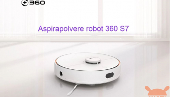 Laser robot vacuum cleaner washes floors 360 S7 at 253 € and 360 S6 at 287 € Warranty 2 Years Europe