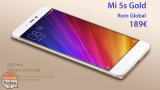 [Cod de reducere] Xiaomi Mi 5s Gold International 3 / 64Gb la 189 € Transport maritim și vamă incluse