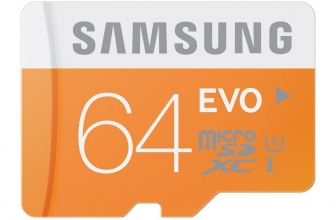 [Aanbieding] Samsung EVO 64gb MicroSD - 23 € op Amazon.co.uk