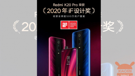 Redmi remporte le premier IF Design Award 2020 avec K20 Pro