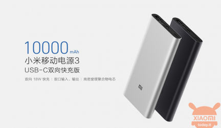 Xiaomi Mi Power Bank 3 10000mAh for sale, thin and convenient