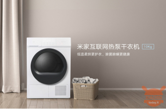 Xiaomi launches Mijia Internet Heat Pump Dryer, the smart and super fast dryer