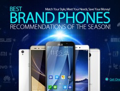 Best Brand Smartphones Up to 49% OFF from DealExtreme