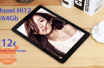 Discount Code - Chuwi Hi12 Tablet 4 / 64Gb to 212 € 2 warranty years Europe priority FREE shipping