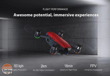 Kode Diskon - DJI Spark 2KM FPV dengan 12MP 2-Axis Mechanical Gimbal Camera Fly More combo seharga 266 €