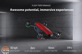 Discount Code - DJI Spark 2KM FPV with 12MP 2-Axis Mechanical Gimbal Camera Fly More combo at 474 €