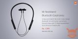 Xiaomi Mi Neckband Bluetooth-oortelefoon met Bluetooth 5.0 gepresenteerd in India
