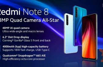 Redmi Note 8 Global official with 4 cameras and Snapdragon 665