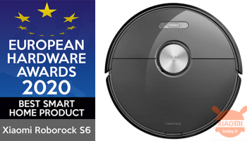 Roborock S6 pluripremiato agli European Hardware Awards 2020
