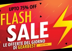 Discount Code - Daily Coupon and Flash Sale at 360 ° from Gearbest!