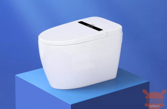 Small Whale Wash Smart Toilet: The fully automatic Smart Toilet with external display