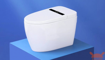 Small Whale Wash Smart Toilet: Il WC Smart completamente automatico con display esterno