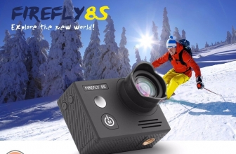 Offer - Firefly 8S 4K WiFi Sports Camera at 93 € and Firefly 8 SE at 123 € 2 warranty years Europe Shipping and Customs Included