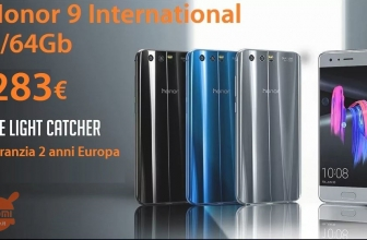 Offer - Huawei Honor 9 International Black at 283 € 2 guarantee for Europe years