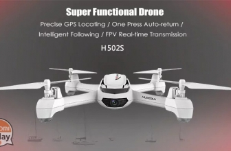 [קוד קופון] Hubsan X4 H502S 720P מצלמה 5.8G FPV RC Quadcopter ב 100 €