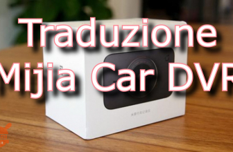Translate the Xiaomi Mijia Car DVR into English